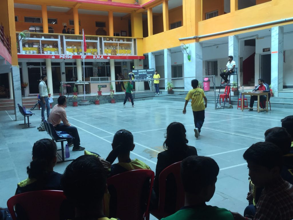 Inter House Badmintion Tournament 2016-17