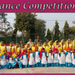 Deepak Memorial School Sagar Organised Inter-House Group Dance Competition.
